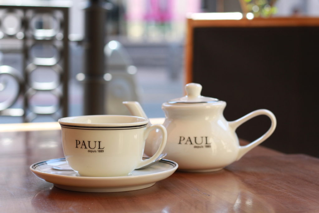 Tea at PAUL